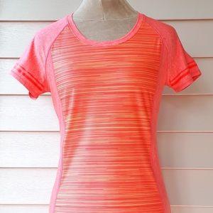 Under Armour Ladies HeatGear Orange Activewear Top